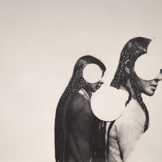 Pawel Mendrek, ariadne, drawing on papier, 100x70cm