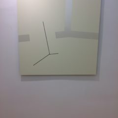 Barbara Höller, Mobile Reality, Acryl auf Alubibond, 110x110cm, 2016