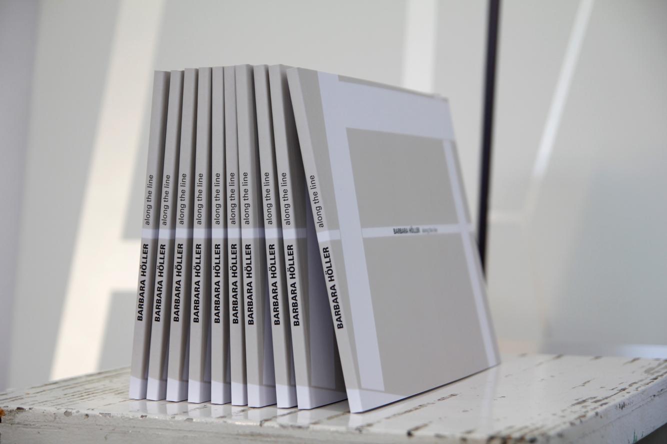 Barbara Höller, Along the Line Katalog, Credits: Barbara Höller