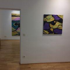 Catharina Vopava, Ausstellungsansicht, 2017