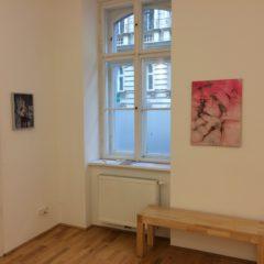 Katharina Moser. Strukturen. Berührungen, Ausstellungsansicht, 2017