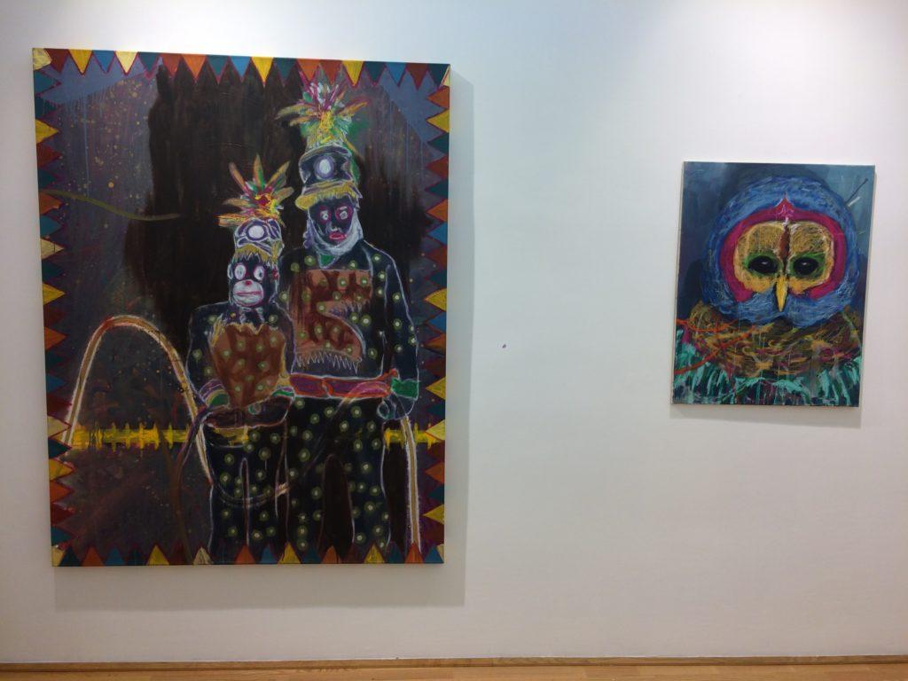 Carlos Perez, Das Paradies, Ausstellungsansicht, 2018