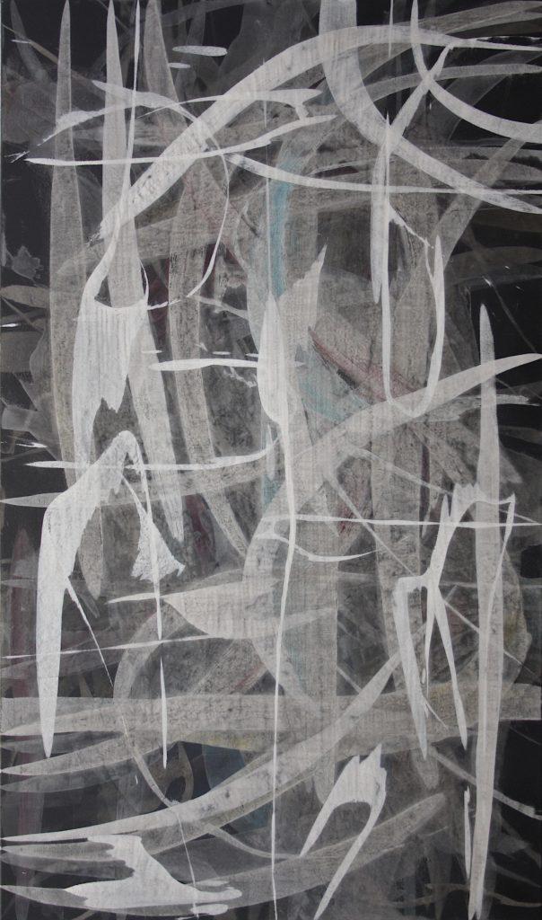 Benjamin Feldgrill, o.T., 100x170cm, Acryl auf Leinwand, 2017 (1)