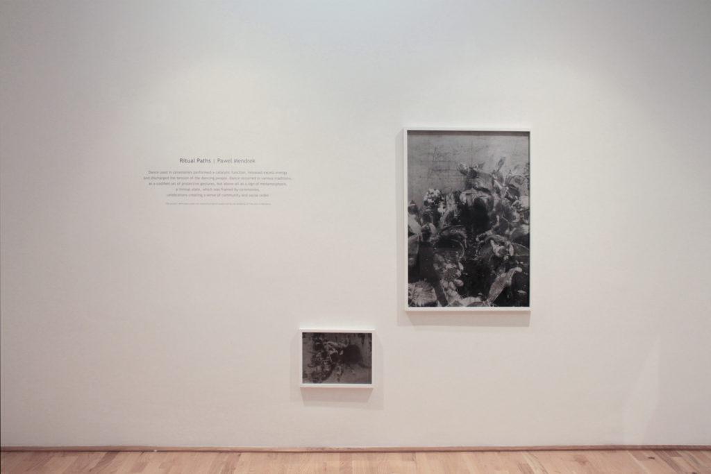 Pawel Mendrek, Ritual Paths, Ausstellungsansicht, Loft8, 2018