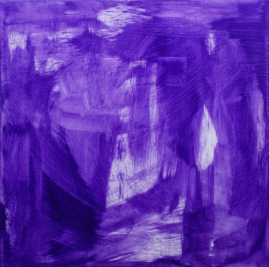 Jelena Micic, Putzmalerei, Acrylic on canvas, 2016, 50x50cm