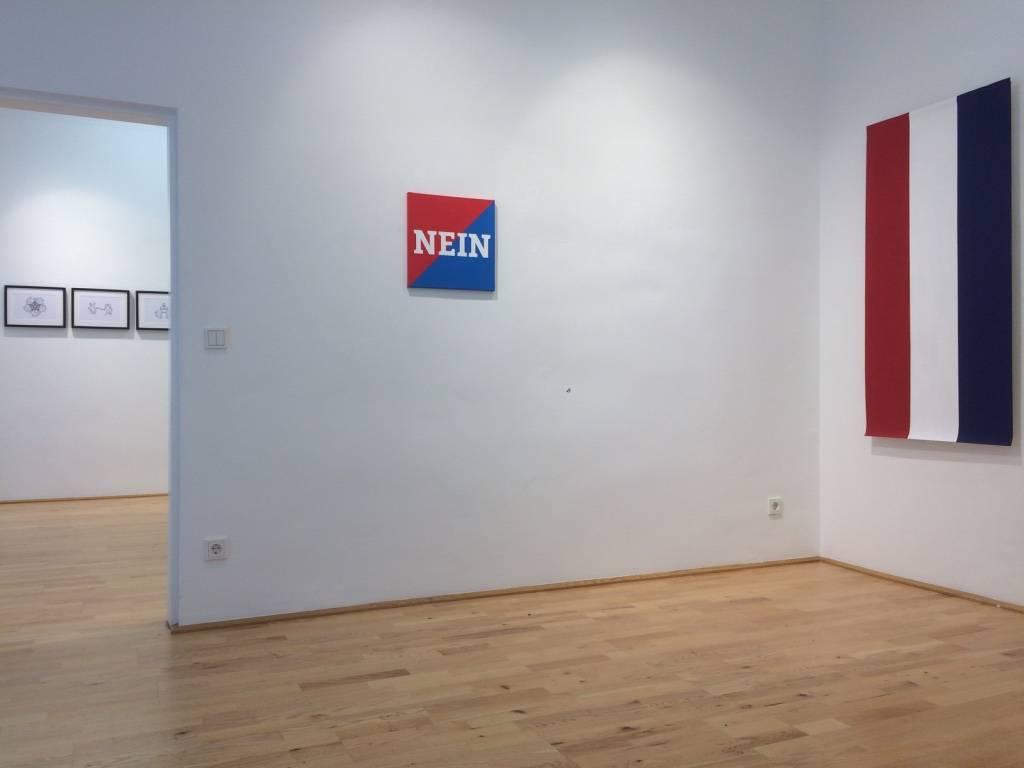 Sisters in Arms, Jelena Micić und Vera Klimentyeva, Ausstellungsansicht, Loft8, 2018