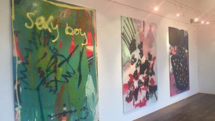 Clever Boy, Theresa Klumpp und Alexander Blum, Ausstellungsansicht, Loft8/Künstlerdorf Neumarkt an der Raab 2018