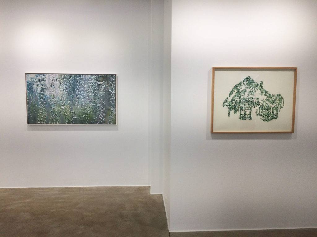 An der Schwelle. Marianne Lang und Richard Jurtitsch, Blick in die Ausstellung, Loft8 Galerie für zeitgenösssische Kunst, 2018