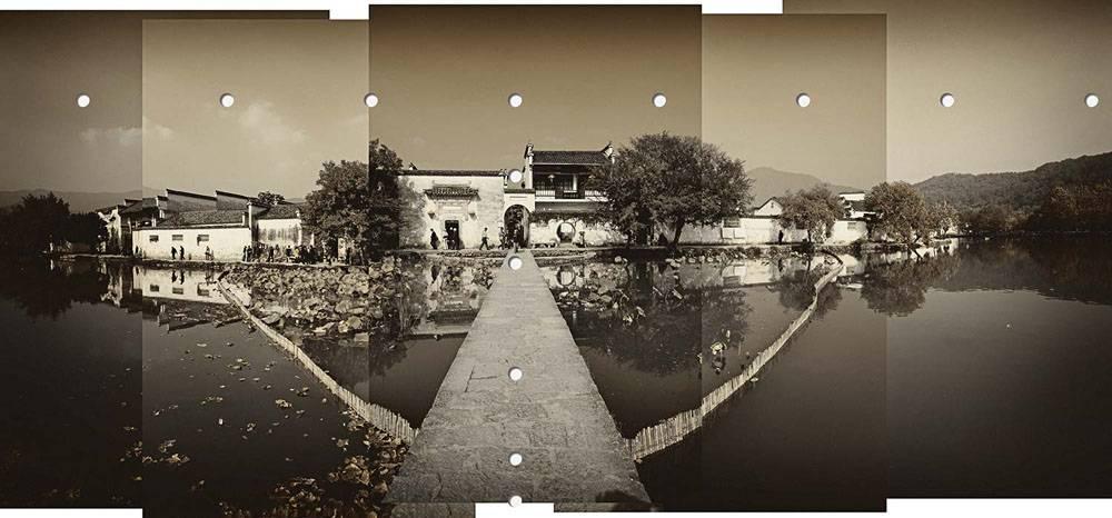 __ Wan Xia 画册No.08号 宏村 Hongcun 84x180cm