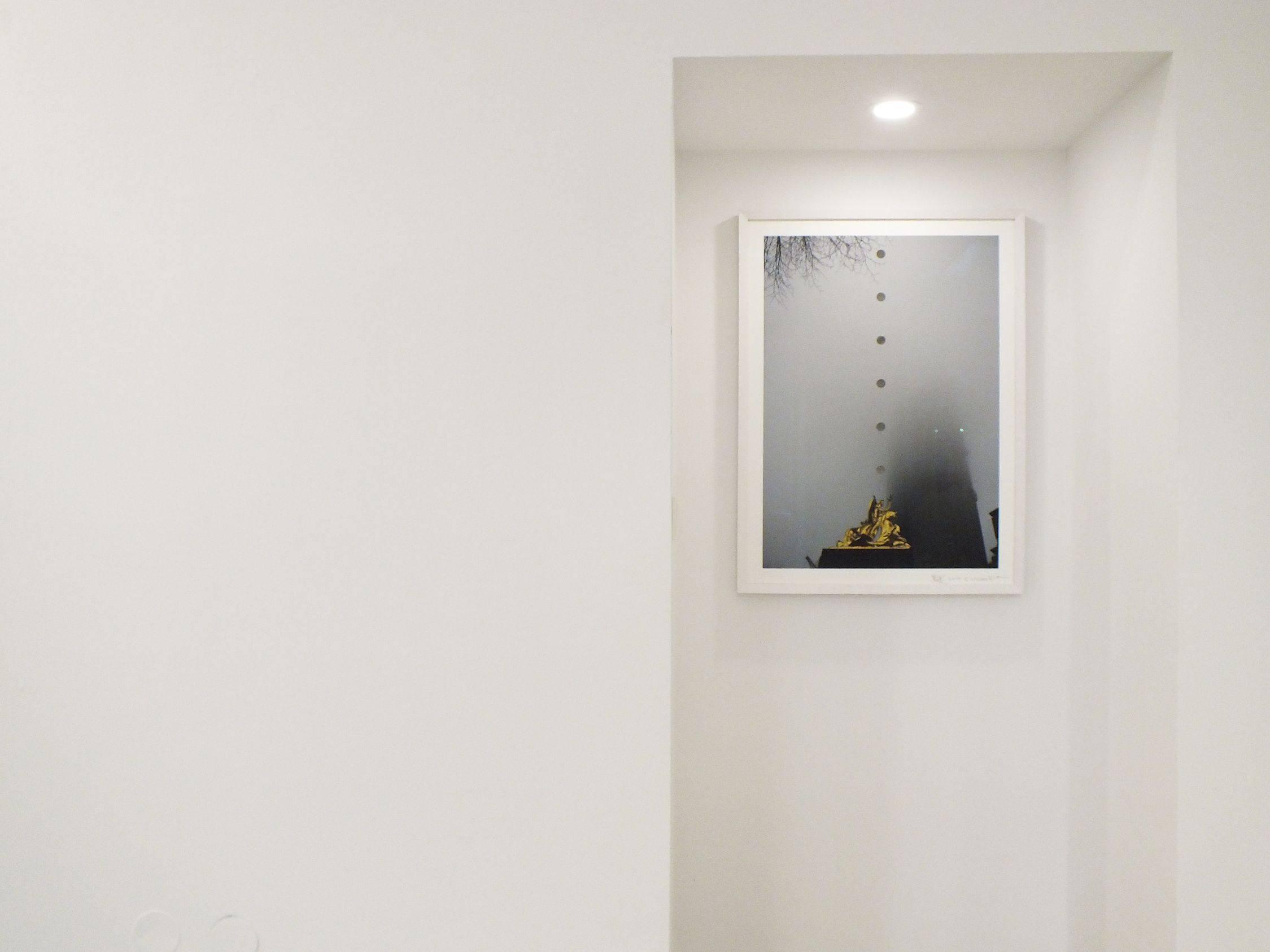 Spuren/ Traces, Clouds Taste Metallic, Loft8 Galerie für zeitgenösssische Kunst, 2019